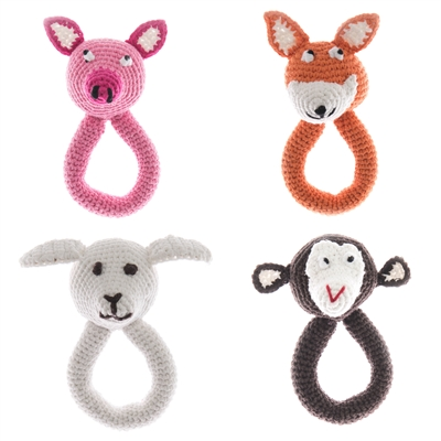 Pig - Animal Ring (Handmade)