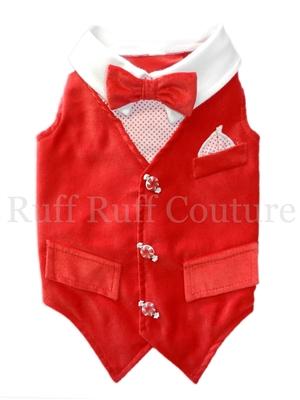 Winter Wonderland Vest by Ruff Ruff Couture®