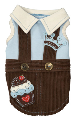 Royal Sweet Treat Overalls by Ruff Ruff Couture®