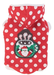 Christmas Cocoa Hoodie by Ruff Ruff Couture®