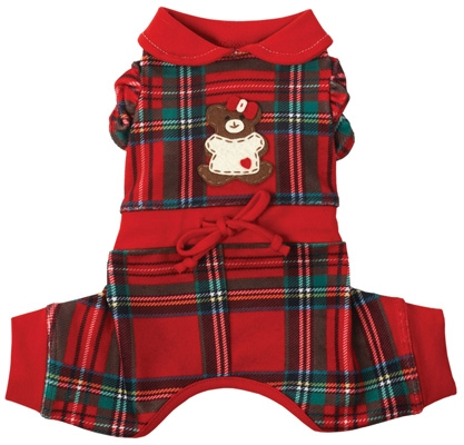 Lil' Teddy Snuggle (GIRL) Suit by Ruff Ruff Couture®