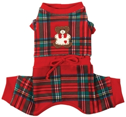 Lil' Teddy Snuggle (BOY) Suit by Ruff Ruff Couture®