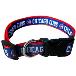 Chicago Cubs Collar and Leash – RIBBON