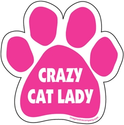Crazy Cat Lady Paw Magnet