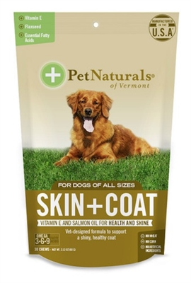 Skin & Coat Chews for Dogs (30 count)