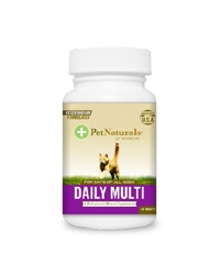 Daily Multi Tablets for Cats Beef (60 Tabs)