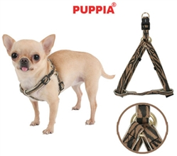 Golden Zebra Harness by Puppia®