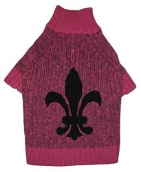 Fleur de Lys Sweater - Pink