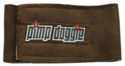 Brown/Pimp Doggie Belly Band
