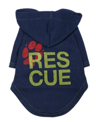 Rescue Charity Hoodie Blue