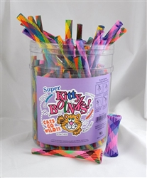 """Super Kitty Boinks Counter Display - 100 Pc - 7"""" Multicolored Assortment"""
