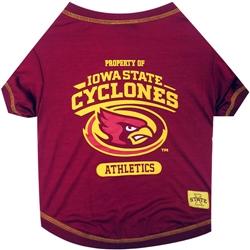 Iowa State Cyclones Dog Tee Shirt