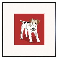 Framed Print: Fox Terrier