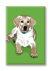 Lab Pup - Fridge Magnet