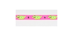 Pink / Lime Green Alligator Collars