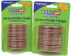 Busy Buddy Cornstarch Rings (16 pc pack)