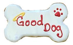 "(LIMIT 4 PER ORDER) 6"" Good Dog Bone"