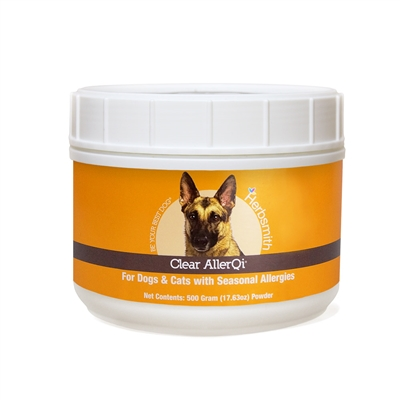 Clear AllerQi - Seasonal/Environmental Allergy Support for Dogs and Cats