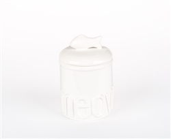 Small Meow Ceramic Treat Jars