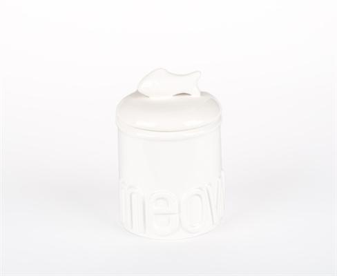 Small Meow Ceramic Treat Jars