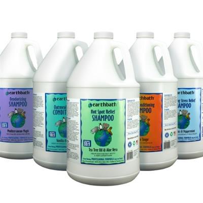 earthbath® Shampoo & Conditioner - Mix & Match 4 per case, Made in USA, 128 oz