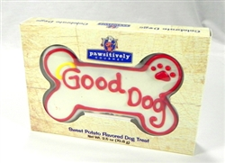 "6"" Good Dog Bone Gift Box"