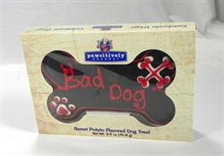 "6"" Bad Dog Bone Gift Box"