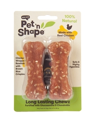 "Long Lasting Chewz 4"" Bone (2 pk)"