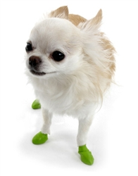 PawZ - Green - Tiny - up to 1""