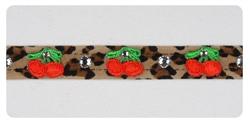 Cheetah Cherry Collars