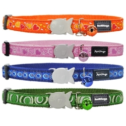 40 Design Ribbon Colors - Cat Collars