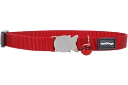 11 Classic Solid Colors - Cat Collars