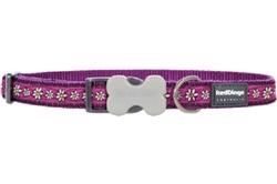 Daisy Chain Purple - Dog Collars, Leashes, & Harnesses
