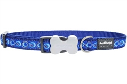 Cosmos Dark Blue - Dog Collars, Leashes, & Harnesses