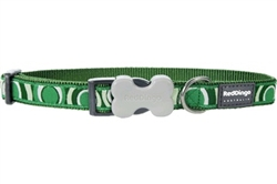 Circadelic Green - Dog Collars, Leashes, & Harnesses