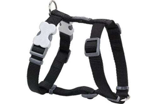 Black Dog Collars, Leashes, & Harnesses