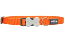 Orange Dog Collars, Leashes, & Harnesses