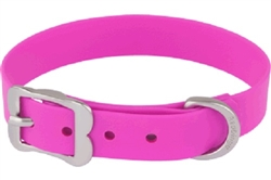Hot Pink VIVID PVC - Dog Collars and Leashes