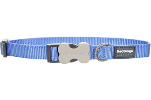 Mid-Blue Dog Collars, Leashes, & Harnesses