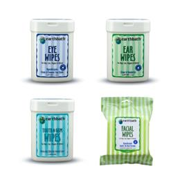 earthbath® Specialty Wipes, Mixed Case of 12, 25 ct re-sealable container