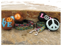 Peace Sign Collars & Leads