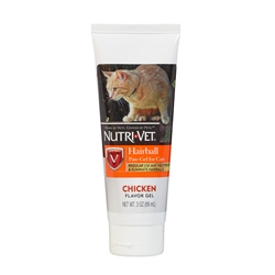 Nutri-Vet Hairball Paw-Gel (Chicken Liver Flavor) - 3 oz.
