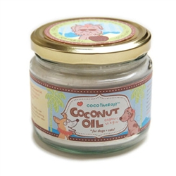 CocoTherapy® Coconut Oil - 8 fl. oz. Glass Jar