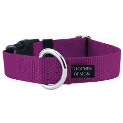 """5/8"""" Wide Solid Colored Side Release Collars"""