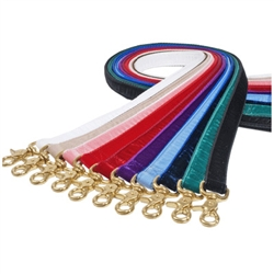 "1"" Wide Swiss Velvet Leash"