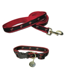 Miami Heat Collar and Leash ***3 Sm leashes left***