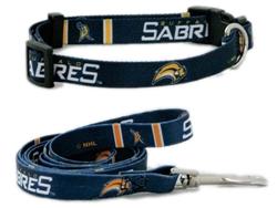 Buffalo Sabres Dog Collars & Leash