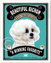 Beautiful Bichon (Bichon Frise) Best Friend Blend, A Winning Favorite