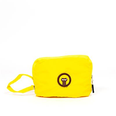 Yellow Pocket Fold Up Raincoat