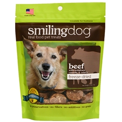 Smiling Dog Freeze-Dried Treats - Grain Free, Limited Ingredient Dog Treats
